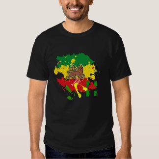 Accionado por las camisetas/el camisetas de Jah