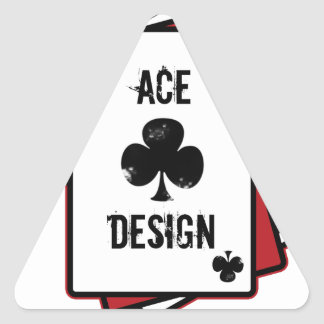 Ace Design Pegatina Triangular