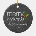 Acebo de las Felices Navidad del collage de la fot Ornamentos Para Reyes Magos