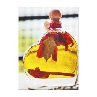aceite de oliva impresión en lienzo
