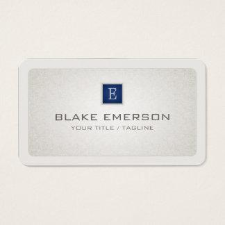 Acento de encargo profesional redondeado del azul tarjeta de visita