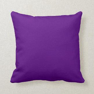 Acento determinado del diamante reversible púrpura cojín decorativo