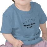 Acepille cómo ruedo camiseta