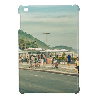 Acera Río de Janeiro el Brasil de Copacabana