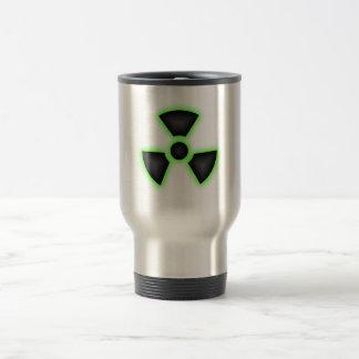 Acero inoxidable radiactivo taza del viaje de 15 o