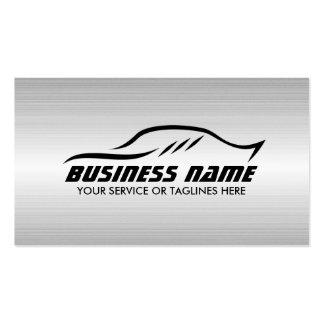 Acero profesional automotriz del metal de la tarjetas de visita
