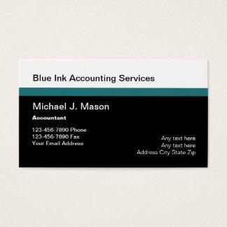 Acountant mantiene Businesscards Tarjeta De Negocios