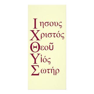Acrostic de IXOYE rojo Lonas