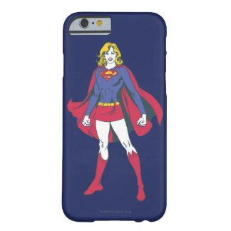Actitud 2 de Supergirl Funda De iPhone 6 Barely There