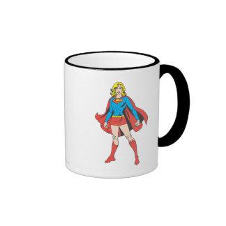 Actitud 5 de Supergirl Taza De Dos Colores
