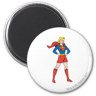 Actitud 7 de Supergirl Imán Redondo 5 Cm
