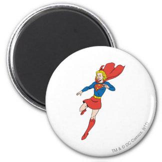 Actitud 8 de Supergirl Imán Redondo 5 Cm
