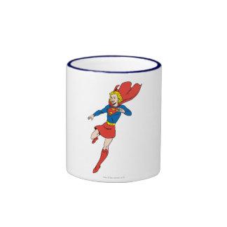 Actitud 8 de Supergirl Taza De Dos Colores