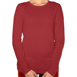 Actitud del bailarín - blusa de manga larga de la camisetas