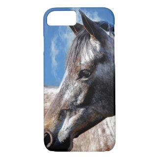 Actitud del caballo del Appaloosa Funda iPhone 7