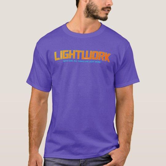 Activewear cristiano anaranjado de la camiseta el