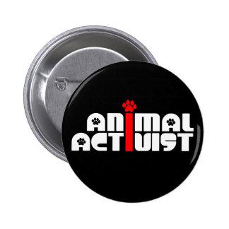 Activista animal pins