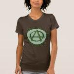 Activista de la tierra camiseta