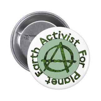 Activista de la tierra pin