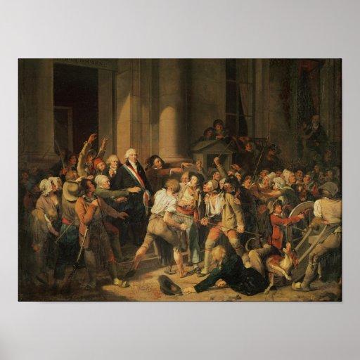 Acto del valor de Monsieur Defontenay Poster