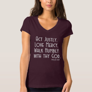 ACTO justo. Misericordia del AMOR. PASEO Camisetas