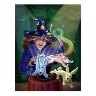 Acto mágico postal