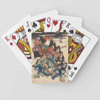 Actor Arashi Rikan 1830 Baraja De Póquer
