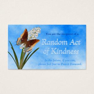 Actos al azar de las tarjetas de la amabilidad