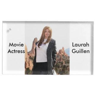 Actriz Laura Guillen aka Ishah de la película Soportes Para Tarjetas De Mesa