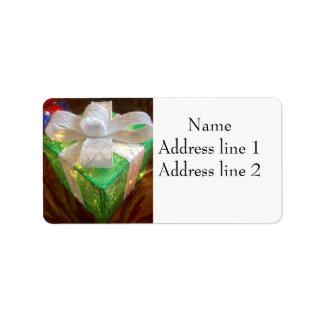 Actuales etiquetas de dirección