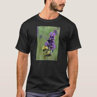 Acuarela del abejorro de la lavanda camiseta