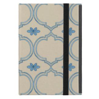 Acuarela del estampado de flores de la teja de iPad mini protectores
