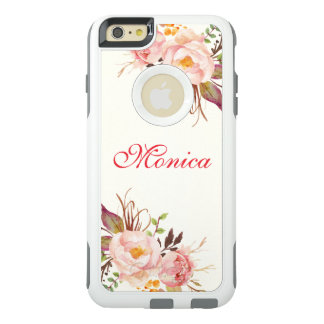 Acuarela floral del otoño funda otterbox para iPhone 6/6s plus