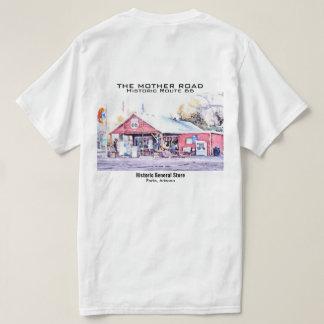 Acuarela histórica de la tienda general de Arizona Camiseta