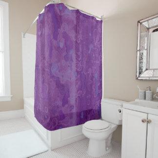 Acuarela púrpura y ilustraciones en colores pastel