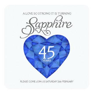 Acuarela tan fuerte del corazón del amor del boda invitación 13,3 cm x 13,3cm