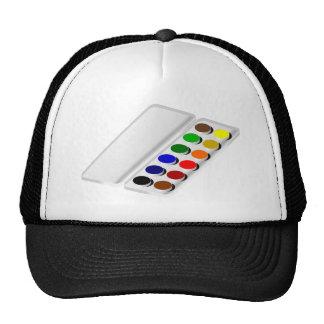 acuarelas gorras