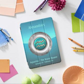 Acuario - el símbolo astrológico del portador del cover de iPad air
