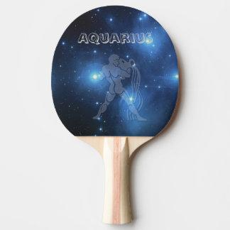 Acuario transparente pala de ping pong