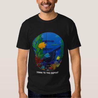 acuario tridimensional camiseta