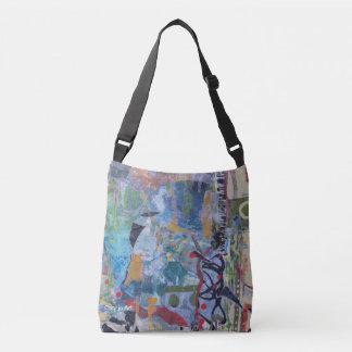 Acuario - un bolso artsy casual de Crossbody