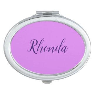 Acuerdo oval conocido del espejo de Rhonda -