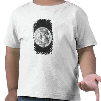 Acuñe llevar la cabeza de Alexander el grande Camisetas