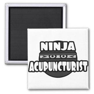 Acupuncturist de Ninja Imán De Frigorifico