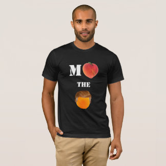 Camiseta Acuse la camiseta anaranjada de American Apparel