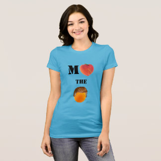 Acuse la camiseta anaranjada del jersey
