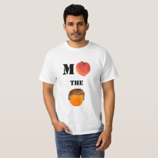 Camiseta Acuse la camiseta básica anaranjada