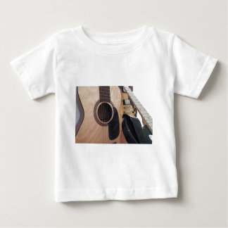 Acústico clásico camiseta de bebé