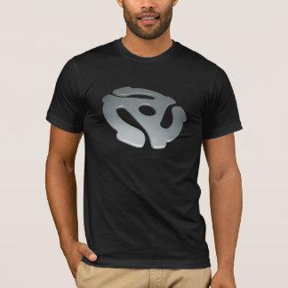Adaptador de la plata 3D 45 RPM Camiseta
