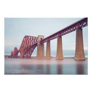 Adelante puente en Escocia Fotos
